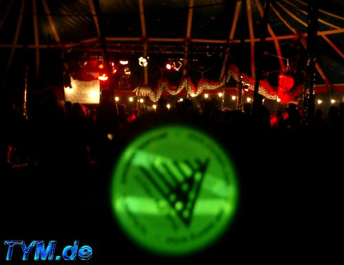 Green Patriot at EJC 2002 Bar Tent